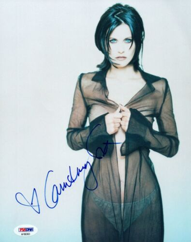Courteney Cox Signed Autographed 8x10 Photo Monica FRIENDS PSA/DNA COA