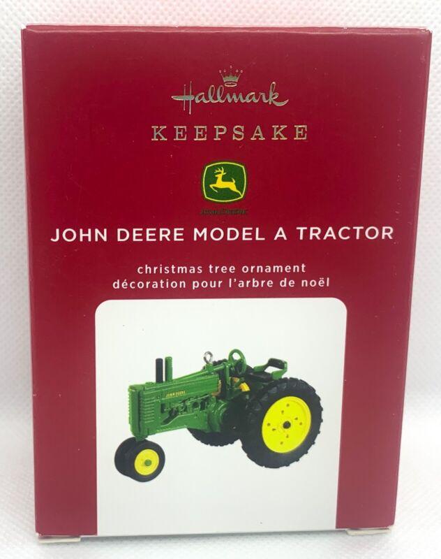 Hallmark Keepsake John Deere Model A Tractor Ornament 2020 NEW