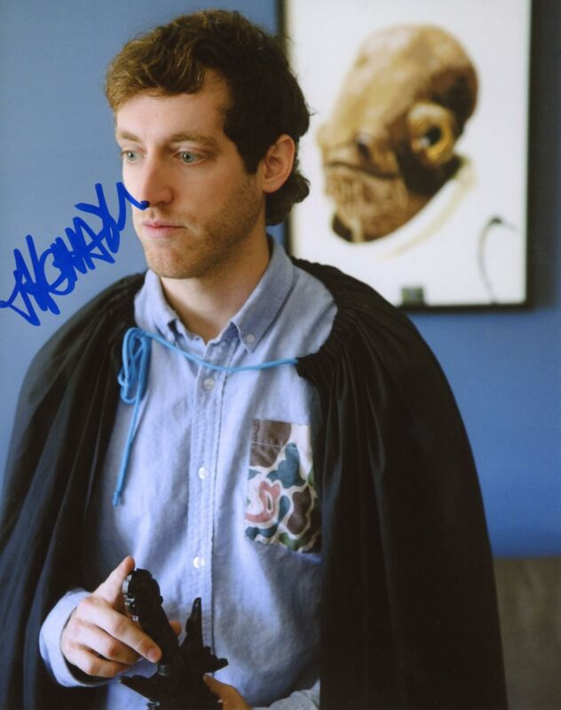 "Thomas Middleditch ""Silicon Valley"" AUTOGRAPH Signed 8x10 Photo B"