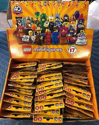 LEGO series 18 MINIFIGURES, SEALED SERIES 18, costume figs!