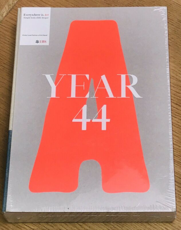 ART BASEL YEAR 44 CATALOGUE 2014, HARDBACK - NEW & SEALED