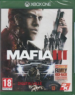 Mafia 3 III Xbox One Brand New Factory Sealed