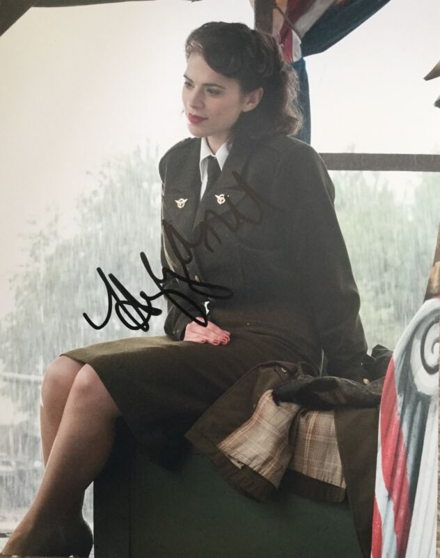 Hayley Atwell signed 10x8 Image M photo (UACC approved dealer COA)