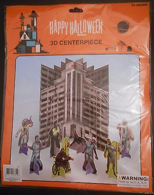 Halloween Party Table 3D Hospital Zombie Centerpiece NEW Zombies Nurse Doctor - Hospital Halloween Party