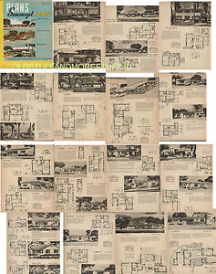 Mid Century House Plans | eBay