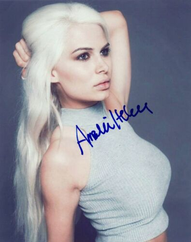 Amalie Helene Signed Autographed 8x10 Photo Model COA