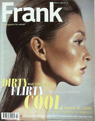 FRANK Magazine March 1999 AUDREY MARNEY Jade Jagger LARRY CLARK Simona Venier VG
