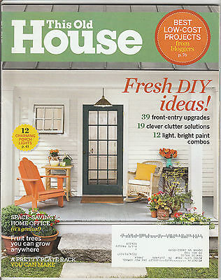 This Old House Magazine March 2013 Back Issue Free Shipping