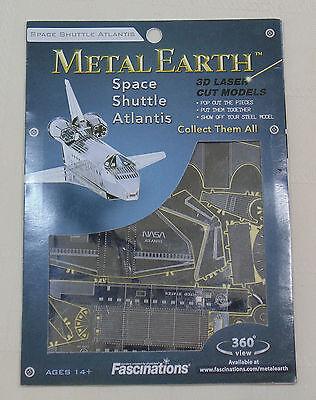 Metal Earth 3D Laser Cut Models   Space Shuttle Atlantis