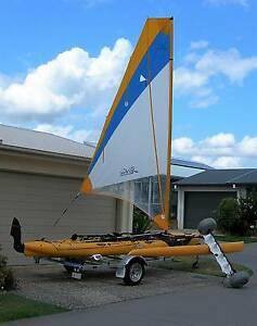 HOBIE MIRAGE TANDEM ISLAND TRIAMARAN KAYAK Eagleby Logan Area Preview