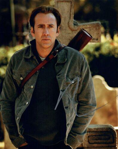 Nicolas Cage Signed Autographed 8x10 Photo National Treasure Actor COA