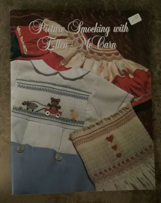 PICTURE SMOCKING WITH ELLEN MCCARN 1990 BOOK
