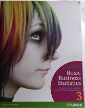 Business Textbook: Basic Business Statistics 3 Berenson BRAND NEW Broadmeadows Hume Area Preview