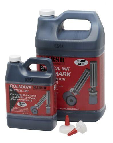 Rolmark/Poly-Rolmark Ink, 1 Quart per QTY Selected