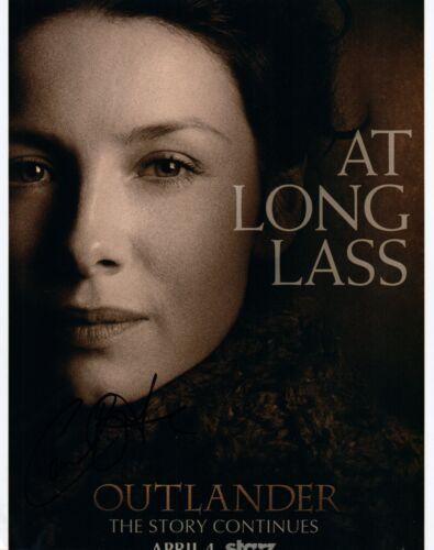 Caitriona Balfe Signed Autographed 8x10 Photo Outlander Claire Fraser COA VD