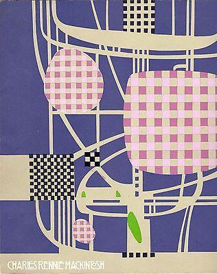 CHARLES RENNIE MACKINTOSH 1868-1928 Architecture Design Painting Art Nouveau