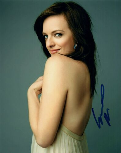 Elisabeth Moss Signed Autographed 8x10 Photo The Handmaid's Tale Actress COA