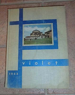Violet Yearbook 1948 Heights Colleges Of New York University