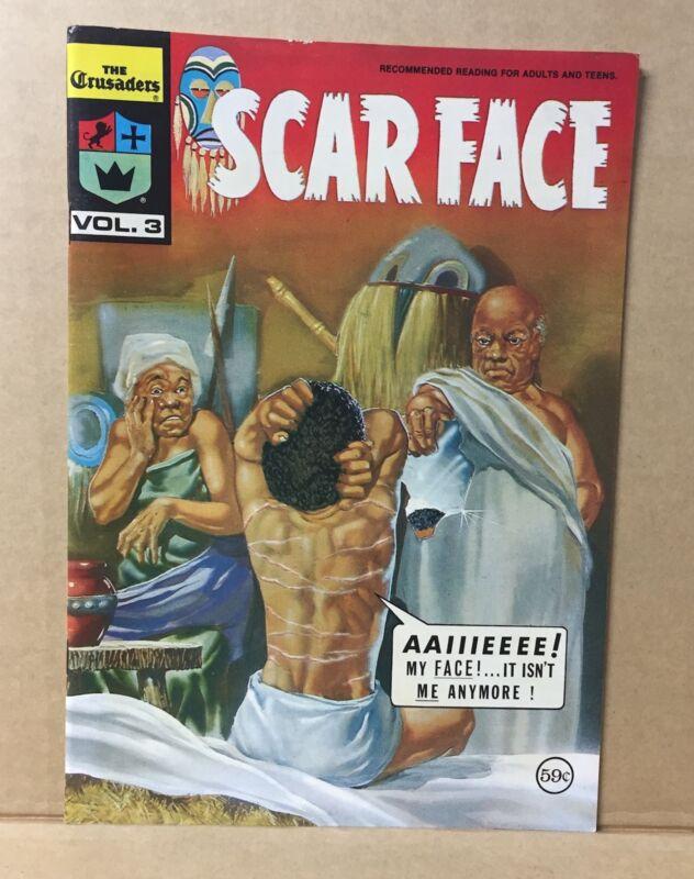 COMIC BOOK - SCAR FACE CRUSADERS VOL.3