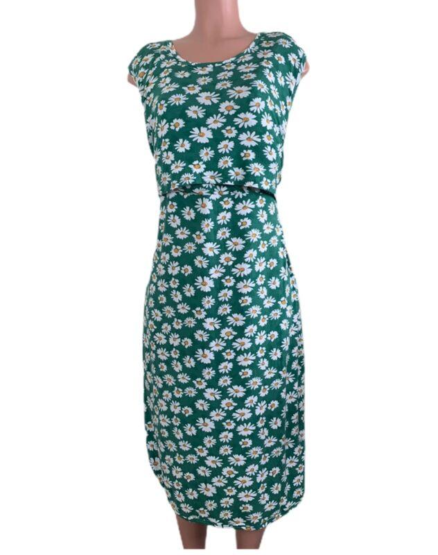 Bearsland Maternity And Nursing Dress Size XL  Floral Print Sleeveless New