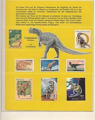 Prähistorische Tiere Dinosaurier - Riesen-Sammlung über 2.000 Werte** (RT8549)