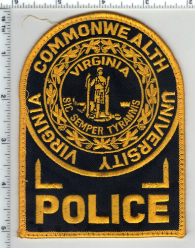 Virginia Commonwealth University Uniform Take-Off Shoulder Patch from the 1980