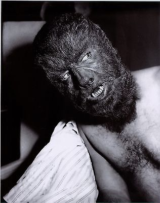 Wolfman Make Up (RARE STILL THE ORIGINAL WOLFMAN  IN MAKEUP #2)