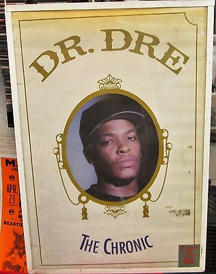 DR. DRE SEALED NEW  RAP HIP HOP RARE SEALED  POSTER  THE CHRONIC 2005