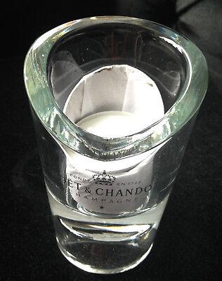 MOET CHANDON CHAMPAGNE GLASS TEALIGHT VOTIVE BOUCHON WINDLICHT BNIB