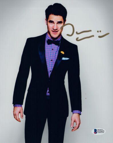 Darren Criss Signed Autograph 8x10 Photo GLEE Actor Beckett BAS COA