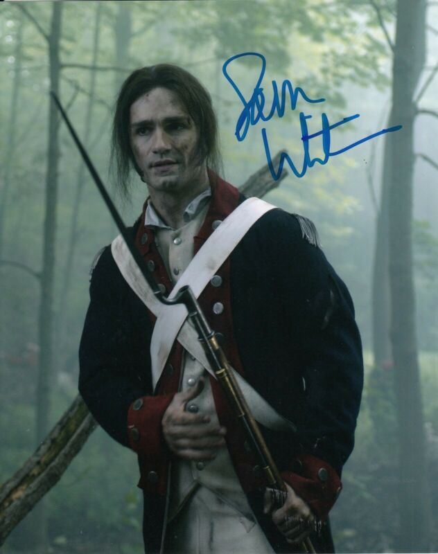 SAM WITWER signed (ONCE UPON A TIME) TV Show 8X10 *Mr. Hyde* photo W/COA #1