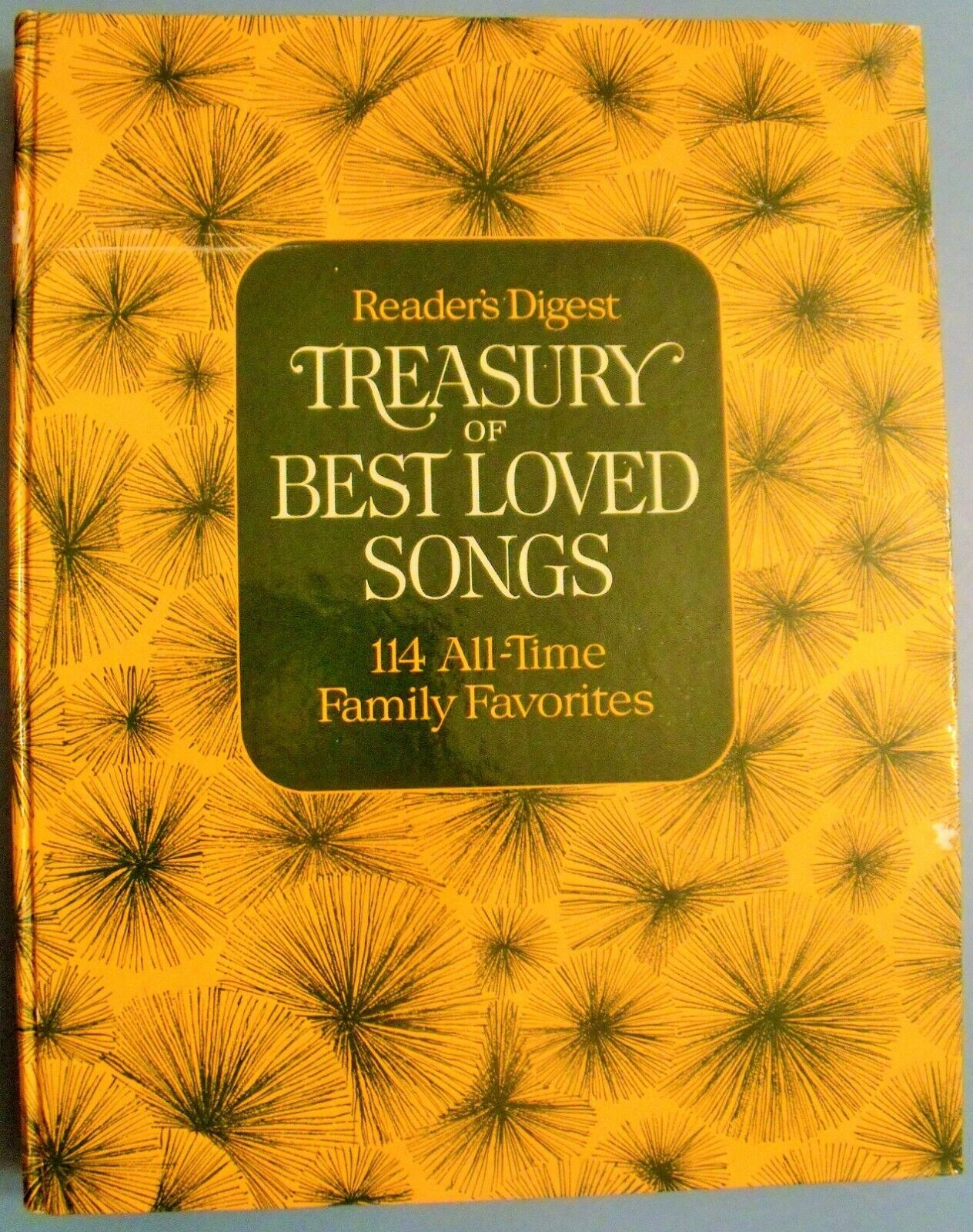 Treasury Of Best Loved Songs Book 114 All-Time Family Favorites Reader s Digest - $8.49
