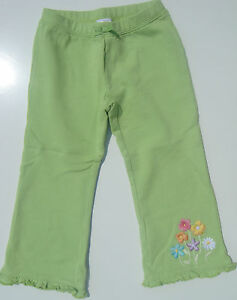 Gymboree-NWT-BUTTERFLY-BLOSSOMS-Green-Pants-Flower-French-Terry-2-2T-3-3T-5-5T