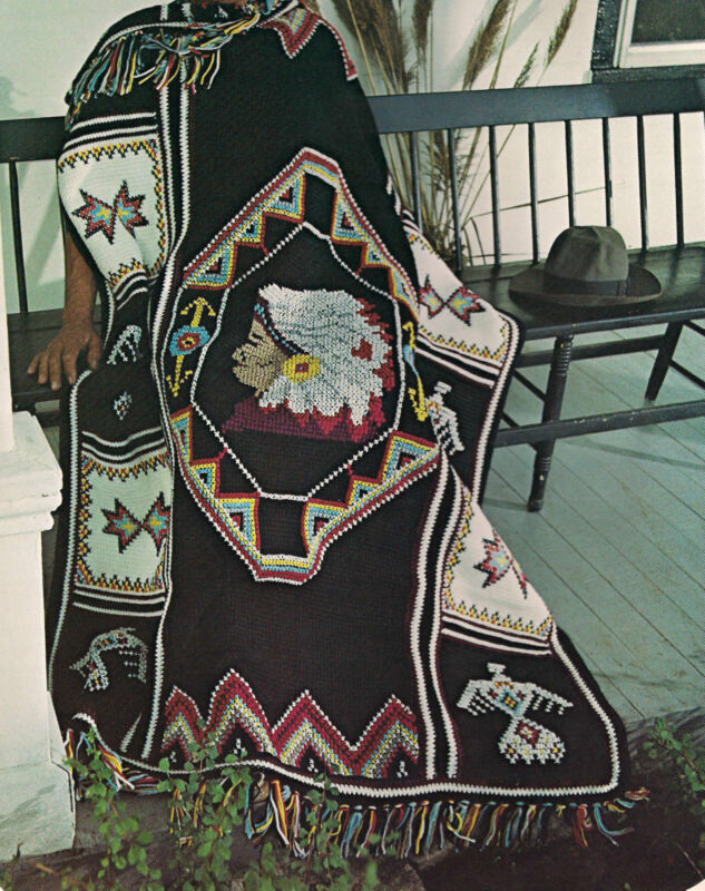Crochet Patterns Native American : Native American Afghan - Crochet Patterns, Free Crochet Pattern