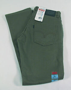 LEVI'S 511 SLIM FIT SLIM LEG BOY'S DENIM JEAN PANT 8 10 12 14 16 18 20 NEW NWT