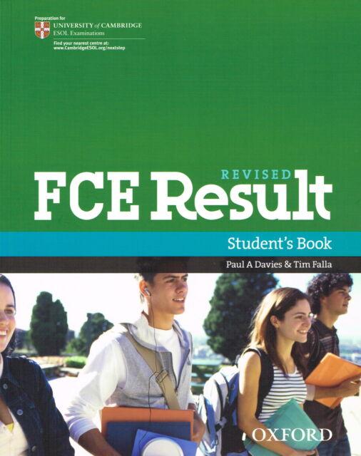 Oxford REVISED FCE RESULT Student's Book | Davis Falla @BRAND NEW@