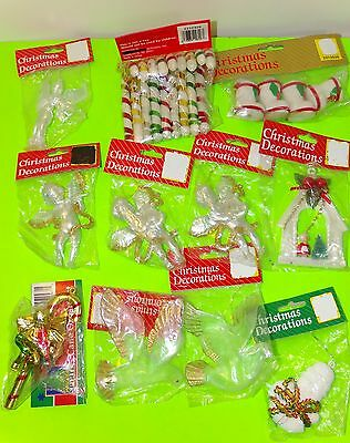 Lot Of 11 Packages Christmas Decorations New Ornaments