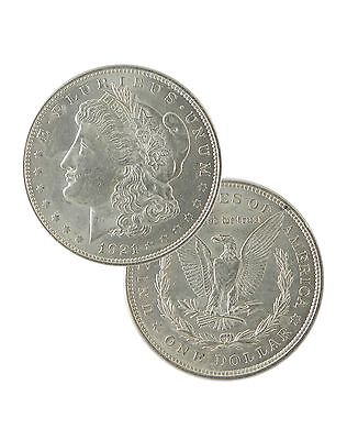 1921 Silver Morgan Dollar AU Lot of 100  Free Shipping