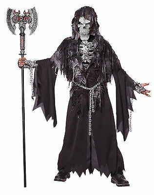 Skeleton Evil Unchained Grim Reaper Child Costume