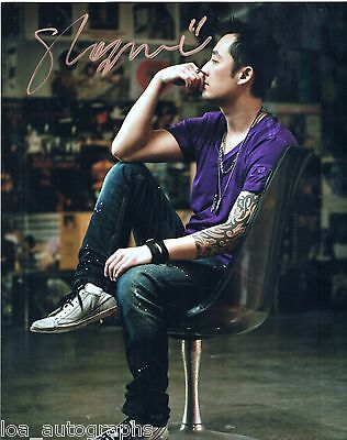 "Shogun Andrew Chen REAL hand SIGNED 8 x 10"" promo photo Chinese DJ #1"