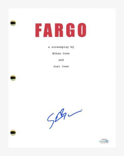 Steve Buscemi Signed Autographed Fargo Movie Script Screenplay ACOA COA
