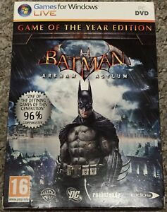 Batman Arkham Asylum PC Game of the Year Edition