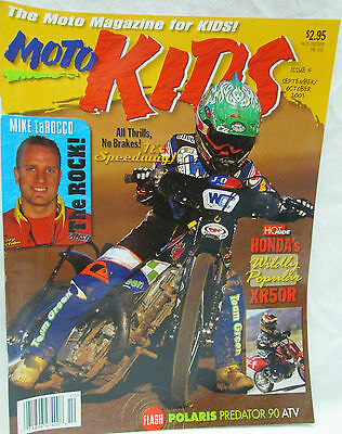 Moto Kids Magazine Sept./Oct. 2003 Dirt Bike Motocross Polaris Predator 90 ATV
