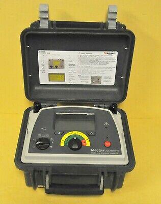 Megger Dlro10hd Nls 10 Amp Digital Low Resistance Ohmmeter