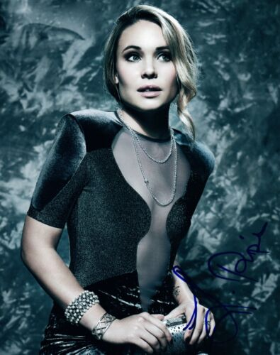 Leah Pipes Signed Autographed 8x10 Photo Glee The Originals COA AB