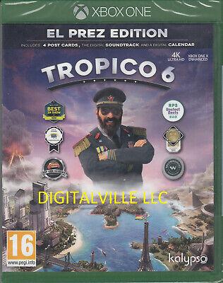 Tropico 6 Xbox One El Prez Edition Breand New Factory Sealed