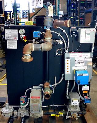 Parker Hot Water Boiler T600 595 2015 125psi X 480lb 595000btu Natural Gas