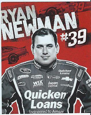 2013 Ryan Newman  39 Quicken Loans Postcard