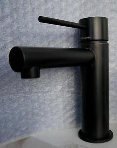 New Matte Black Phoenix Vivid Slimline Bathroom Basin Mixer Tap Melbourne CBD Melbourne City Preview