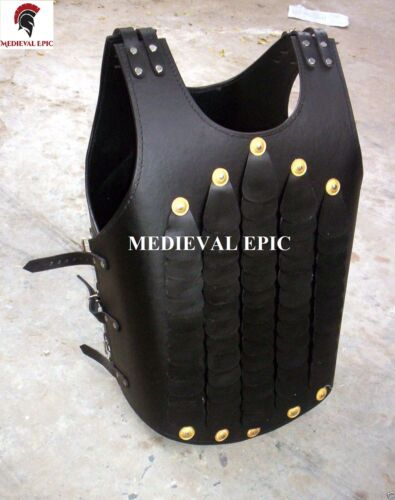 Collectible medieval leather jacket armor vest armour leather jacket